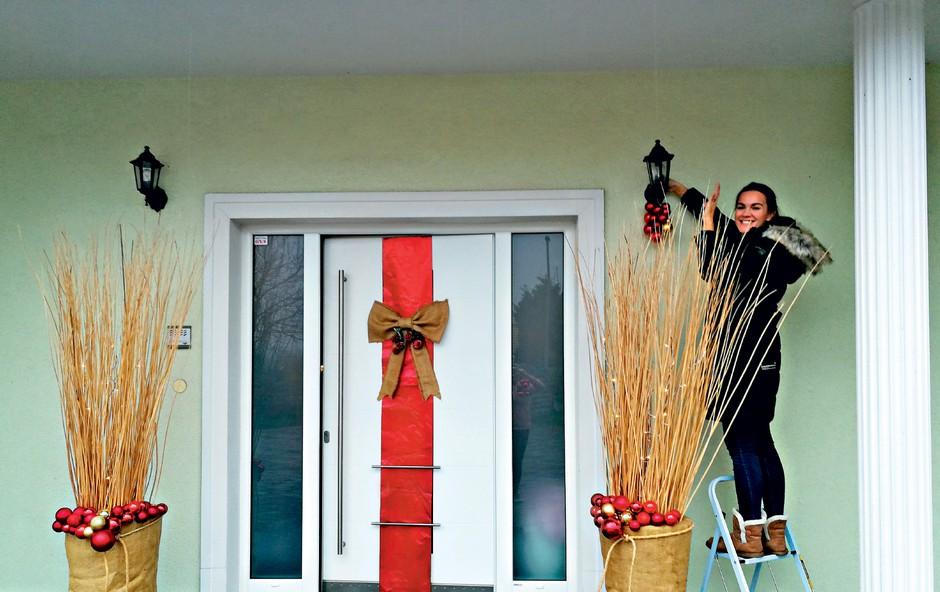 Rebeka Dremelj bi praznike raztegnila na več mesecev (foto: Osebni arhiv)