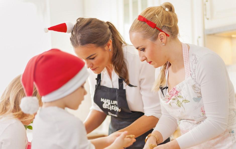 Nov Rebekin izziv - peka piškotov s Šajano! (foto: Osebni arhiv)