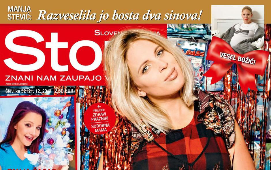 Manja Stević: Težka pot do zanositve! Več v novi Stroy! (foto: Story)