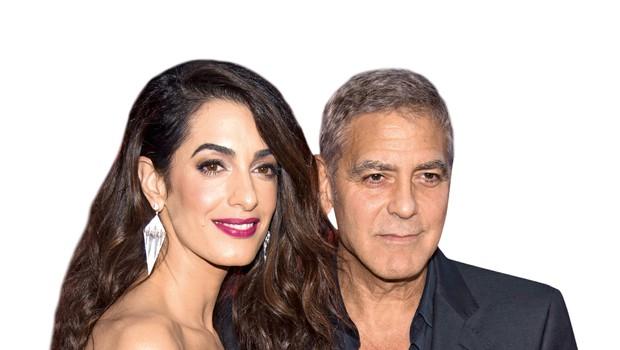George Clooney in Amal: Zvezdnika sta obzirna starša (foto: Profimedia)