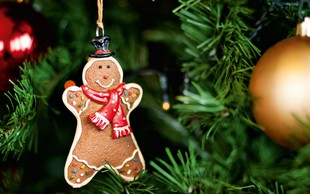 Ni božiča brez okrašenega drevesa!
