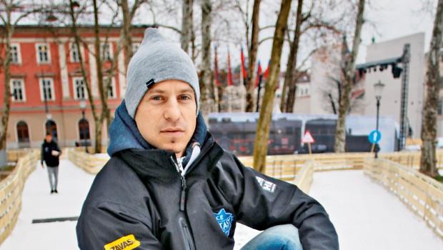 Rene Mlekuž o Ledeni fantaziji v prestolnici (foto: Goran Antley)