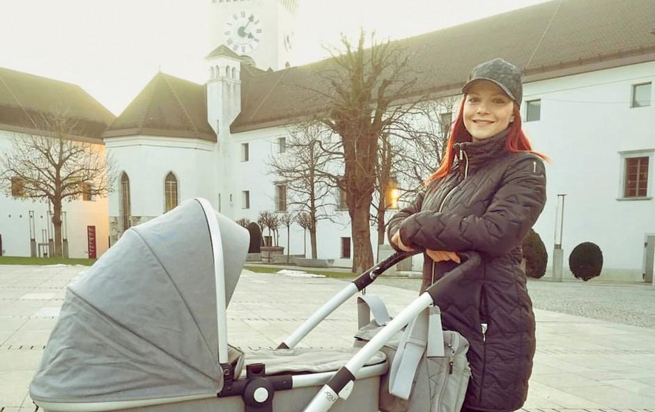 Tanja Žagar je letos prvič okrasila otroško sobico! (foto: Osebni arhiv)