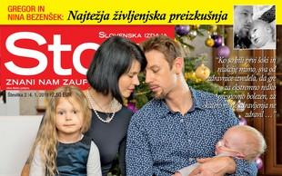 V novi Story ne zamudite: Gregor in Nina Bezenšek spregovorila o najtežji življenjski preizkušnji