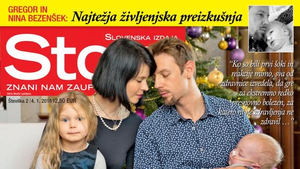 V novi Story ne zamudite: Gregor in Nina Bezenšek spregovorila o najtežji življenjski preizkušnji (foto: Revija Story)