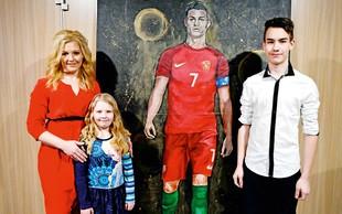 Portreti slikarke Renate Donko bodo na ogled v muzeju Cristiana Ronalda