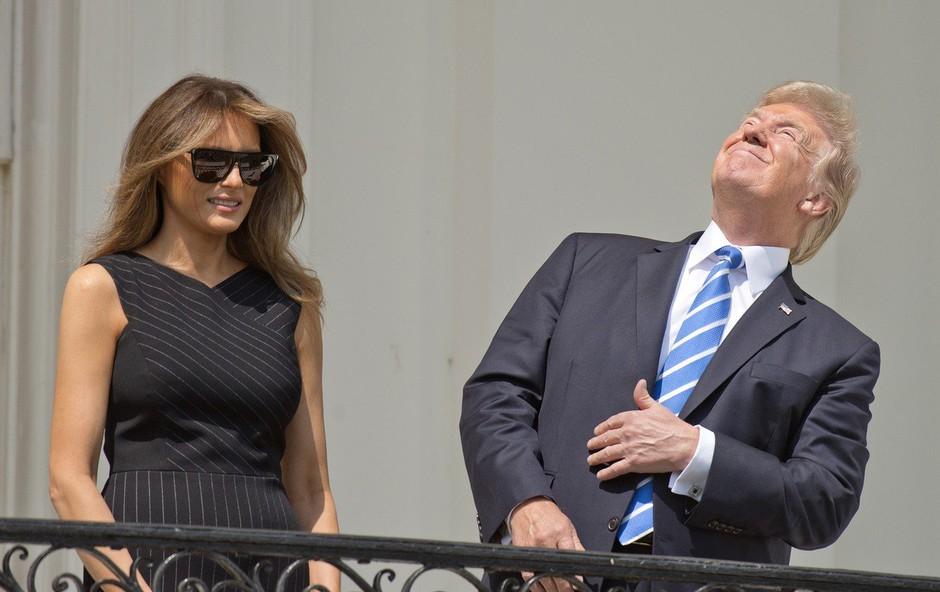 """Donald Trump na Twitterju: """"Sem stabilen genij!"""" (foto: profimedia)"""