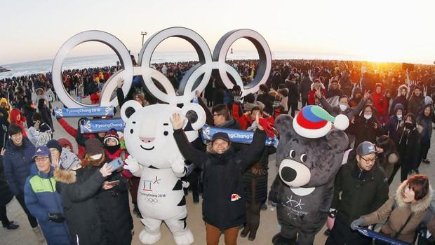 Severna Koreja bo zelo verjetno poslala športnike na olimpijske igre v Južni Koreji (foto: Profimedia)