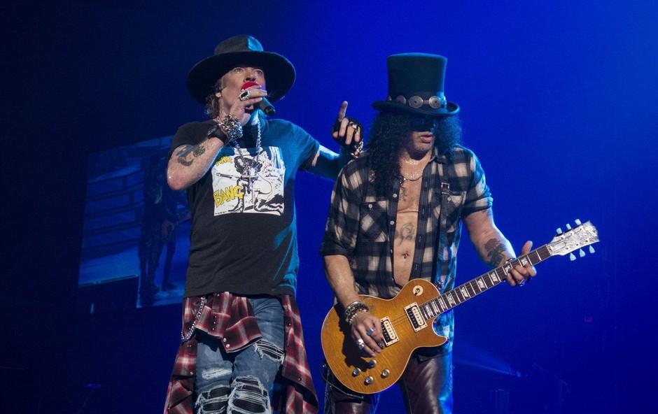 Guns N' Roses spet v polni postavi in na uspešni turneji (foto: profimedia)