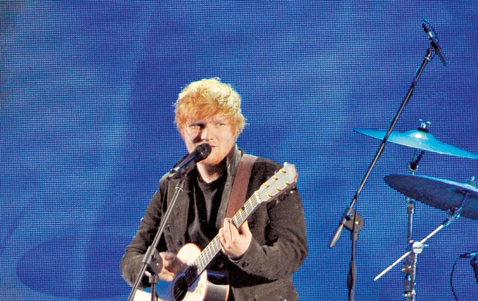 Ed Sheeran bi pel na poroki princa Harryja (foto: Profimedia)