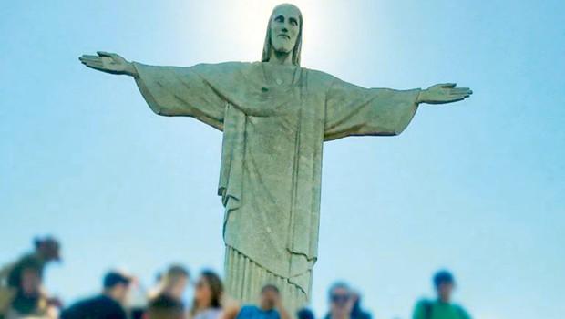 Tina Gaber odkrivala Rio de Janeiro (foto: Osebni arhiv)