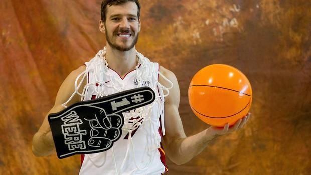 Goran Dragić si bolj želi dopusta z družino kot nastopiti na all-star vikendu! (foto: profimedia)
