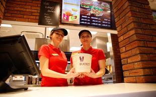KFC piščanec že v Sloveniji