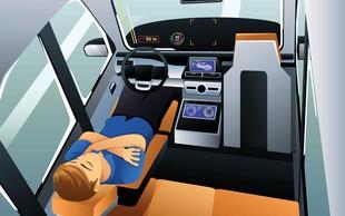 Kako bi Slovenci izkoristili prosti čas v avtonomnih vozilih?