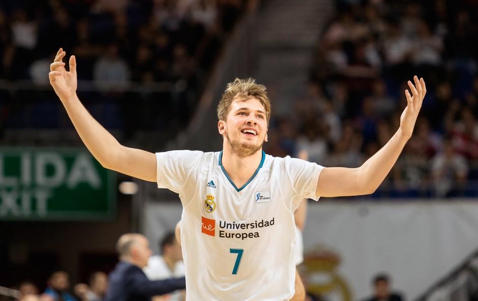 Luka Dončić si že dolgo želi odhoda v najmočnejšo ligo (foto: Primož Predalič)