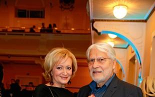 Ksenija Benedetti in Boris Cavazza uživala v prazničnih dobrotah