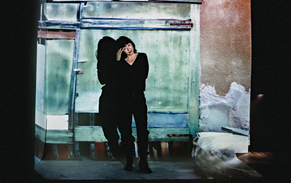 Janja Majzelj, igralka: Strah je sovražnik ustvarjalnosti (foto: Sandi Fišer)