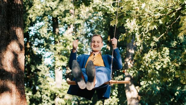 """Tadej Zevnik: """"Tisto, česar pri sebi ne predelamo, predelujejo naši otroci"""" (foto: Metka Komatar)"""