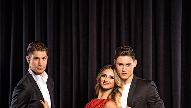 Zvezde plešejo: Pogovor z Gordano, Arnejem in Miho (foto: Primož Predalič)