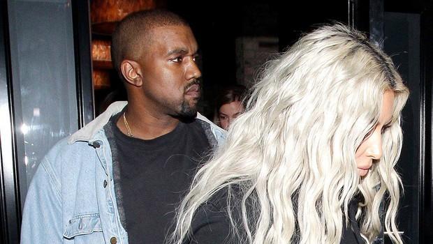 Kim Kardashian in Kanye West se veselita rojstva deklice! (foto: profimedia)