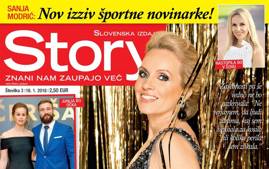 Nov izziv za Sanjo Modrič: Nastopila bo v šovu! Več v novi Story (foto: revija Story)