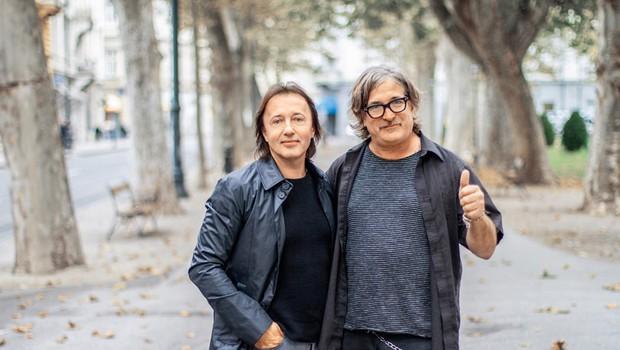Zele Lipovača (Divlje jagode) z glasbo vzhod približal zahodu (foto: Igor Zaplatil)