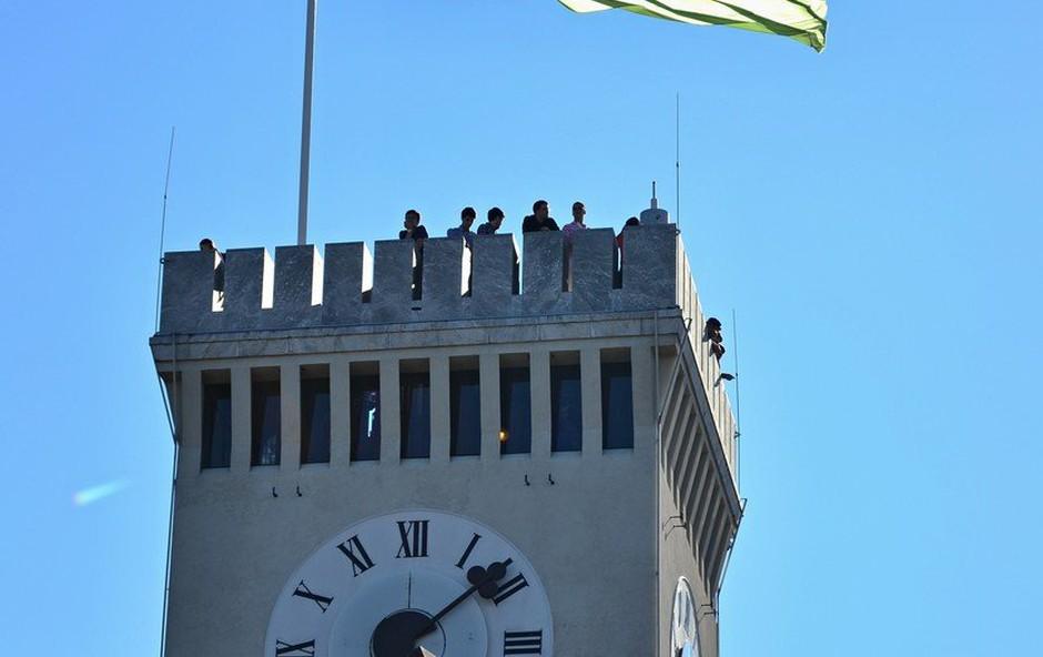 Ljubljanski grad se lahko pohvali z rekordnimi obiski (foto: profimedia)