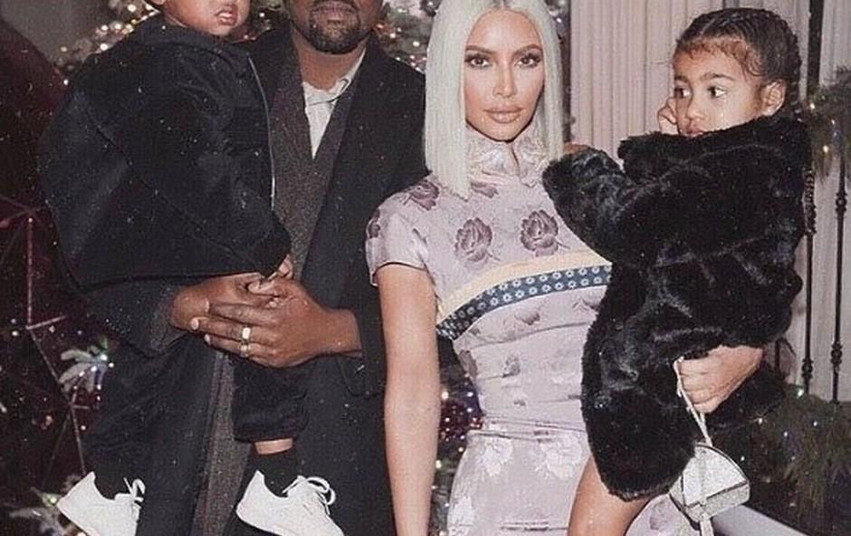 Kanye in Kim sta hčerki dala ime Chicago (foto: profimedia)