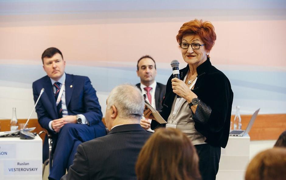 """V Moskvi končan forum Gaidar pod naslovom """"Vrednosti in vrednote"""" (foto: Press)"""