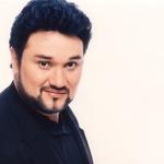 Ramón Vargas z Elviro Hasanagić na dan ljubezni v Unionski dvorani v Ljubljani! (foto: Press)