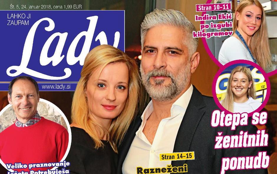 Razneženi Sebastian Cavazza: Rad bi igral z Ajdo. Več v novi Lady! (foto: Lady)