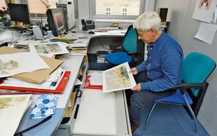 Pavle Učakar, slikar in urednik: Delati knjige za otroke je velika stvar