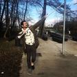 Plesalec Tomaž Šter je po treningu pristal na berglah