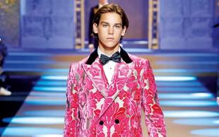 Sin Piercea Brosnana začenja z manekensko kariero