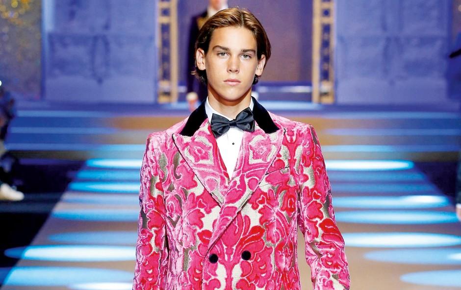 Sin Piercea Brosnana začenja z manekensko kariero (foto: Profimedia)