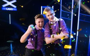 """Timotej in Lenart (Slovenija ima talent): """"Ne bodite se pokazati svojih talentov!"""""""