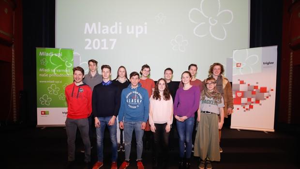 Zavarovalnica Triglav podelila sredstva že 5. generaciji Mladih upov (foto: Mediaspeed)