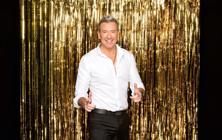 Werner pred šovom Zvezde plešejo: Sem odrasel, neobremenjen otrok (foto: arhiv POP TV)