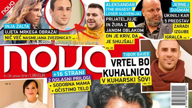Ekskluzivno: Burak Özçivit pride v Slovenijo! Več v novi Novi! (foto: revija Nova)
