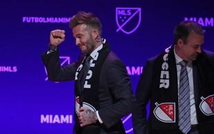 Davidu Beckhamu se v Miamiju uresničujejo sanje!