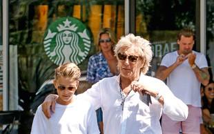 Zvezdnik Rod Stewart velja za strogega očeta svojim osmim otrokom
