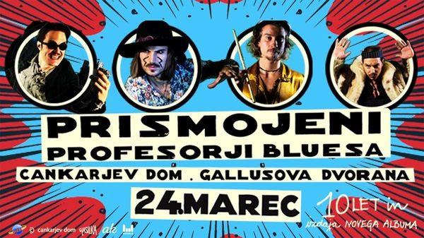 Prismojeni profesorji Bluesa dodajajo zadnje pike na i novemu albumu (foto: Promo)