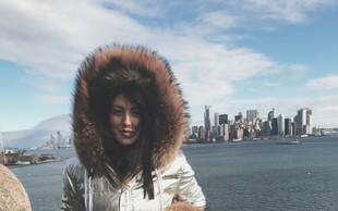 Seksapilna Nina Donelli je pred mrazom pobegnila v tople kraje