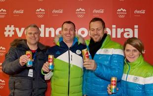 Slovenska bakla širila olimpijski duh