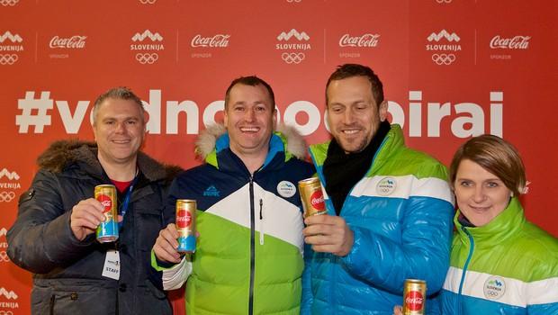Slovenska bakla širila olimpijski duh (foto: Jamma)