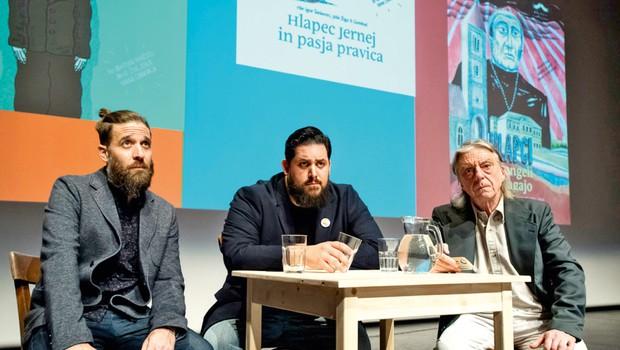 Cankar Strip: Gledališko - stripovski performans (foto: Primož Predalič)