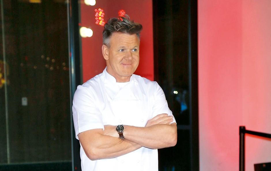 Očetovska strogost britanskega kuharskegha chefa Ramsayja: Otroci naj si sami najdejo delo! (foto: Profimedia)