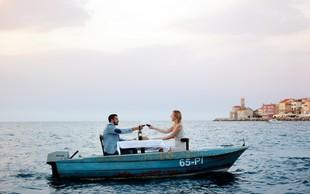 Za valentinovo v objemu morja in ljubezni