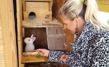 Nataša Madjar o tem, zakaj so dobili tudi zajčka: »Otroci naj od malega razvijajo odgovornost!«