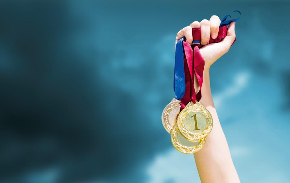 Kako trajen je lesk olimpijske medalje v Sloveniji? (foto: Shutterstock)